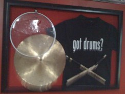 Got Drums? 3D Display.