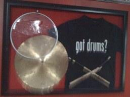 Got Drums? 3D Display.