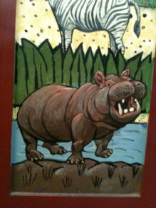 Hippo CLose-up from Media Cabinet