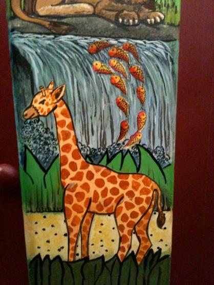 Giraffe Close-Up from Media Cabinet
