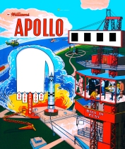Apollo Pinball Back Glass Restoration 2011